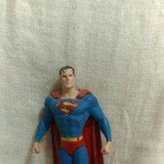 Figuras y Muñecos Marvel: FIGURA DE PLOMO SUPERMAN DC COMICS. MIDE 10 CMS. Lote 143333145