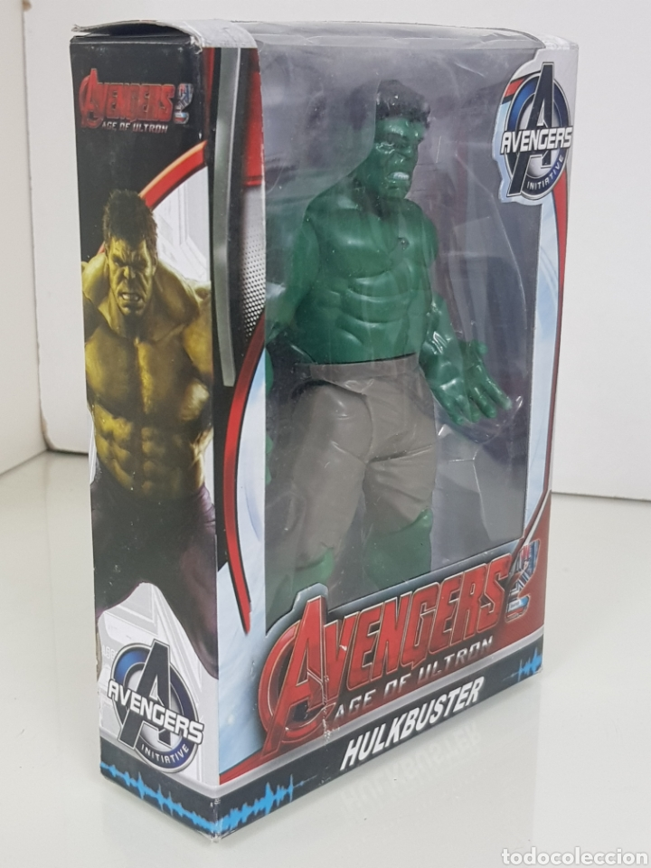Figuras y Muñecos Marvel: Avengers age of Ultron figura de 17 cm con luz Hulk - Foto 2 - 143390908