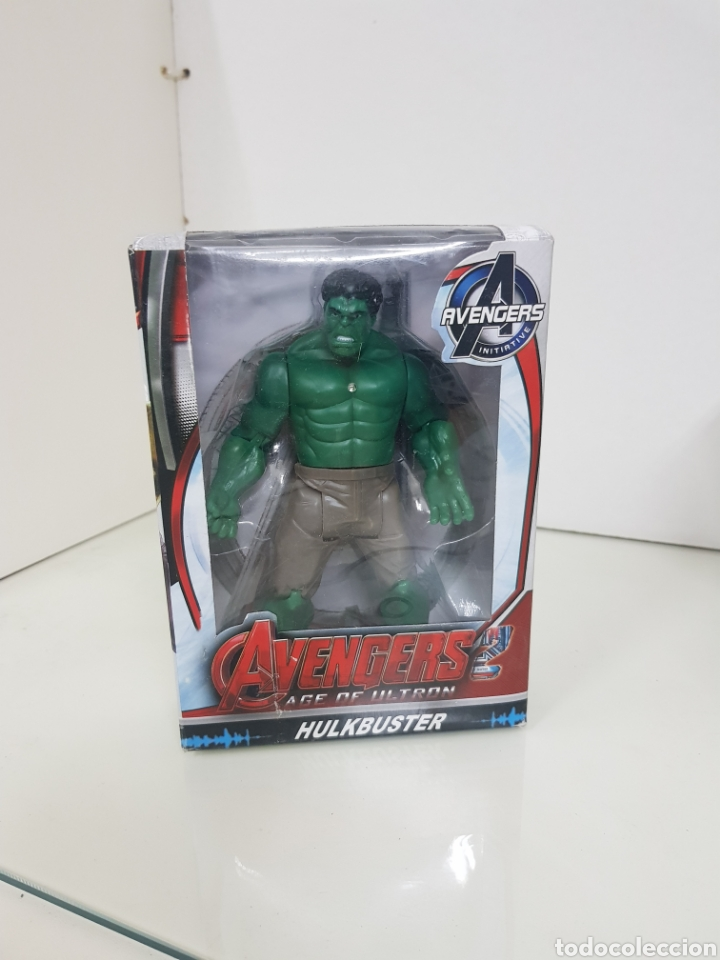 Figuras y Muñecos Marvel: Avengers age of Ultron figura de 17 cm con luz Hulk - Foto 4 - 143390908