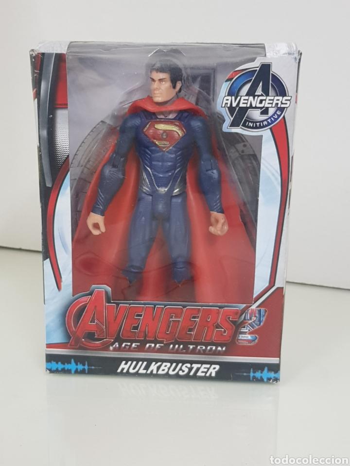 SUPERMAN CON LUZ AVENGERS AGE OF ULTRON DE 17CMS (Juguetes - Figuras de Acción - Marvel)