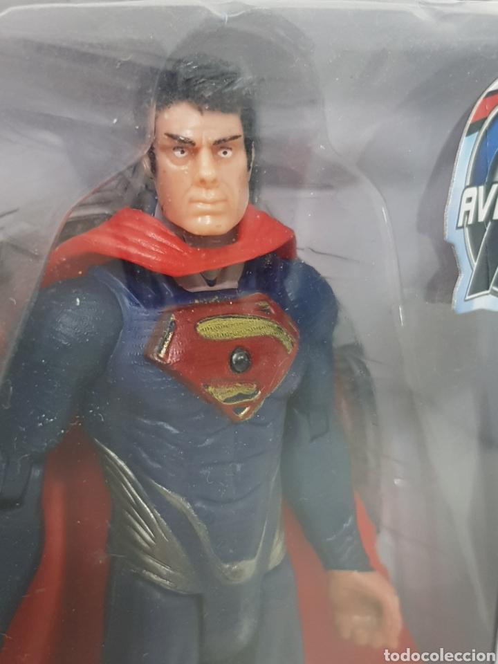 Figuras y Muñecos Marvel: SUPERMAN con luz avengers age of ultron de 17cms - Foto 2 - 143575464
