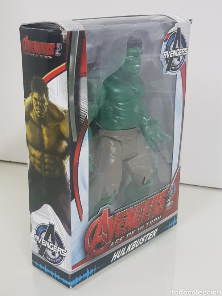 Figuras y Muñecos Marvel: HULK avengers age of ultron de 17cms con luz - Foto 2 - 143576810