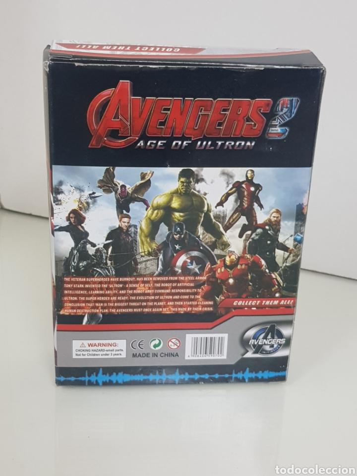 Figuras y Muñecos Marvel: HULK avengers age of ultron de 17cms con luz - Foto 3 - 143576810