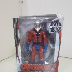 Figuras y Muñecos Marvel: ANT MAN FIGURA AVENGERS AGE OF ULTRON DE 17CMS CON LUZ. Lote 143577786