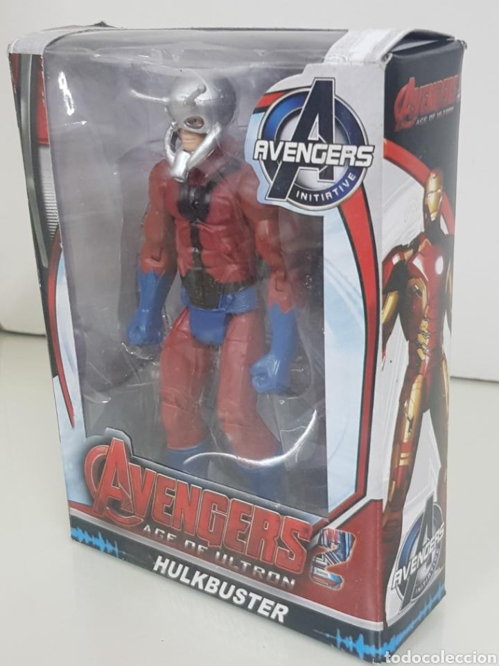 Figuras y Muñecos Marvel: ANT MAN figura avengers age of ultron de 17cms con luz - Foto 3 - 143577786