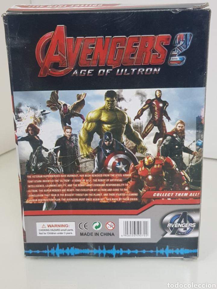 Figuras y Muñecos Marvel: ANT MAN figura avengers age of ultron de 17cms con luz - Foto 5 - 143577786