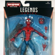 Figuras y Muñecos Marvel: MARVEL LEGENDS SERIES SPIDERMAN SPIDER-MAN WAVE 8 ALA TRAJE FIGURA. Lote 144024542