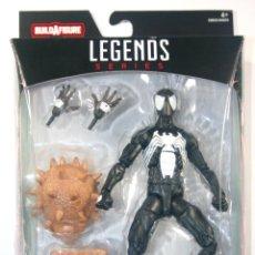 Figuras y Muñecos Marvel: MARVEL LEGENDS SERIES SPIDERMAN SPIDER-MAN BLACK NEGRO WAVE 8 ALA TRAJE FIGURA. Lote 144024614