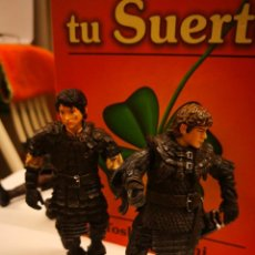 Figuras y Muñecos Marvel: 2 FIGURAS EL SEÑOR DE LOS ANILLOS MARVEL 2003. 11,5 CTMOS. Lote 145965146