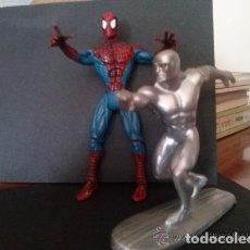 Figuras y Muñecos Marvel: SPIDERMAN Y ESTELA PLATEADA. Lote 146895666