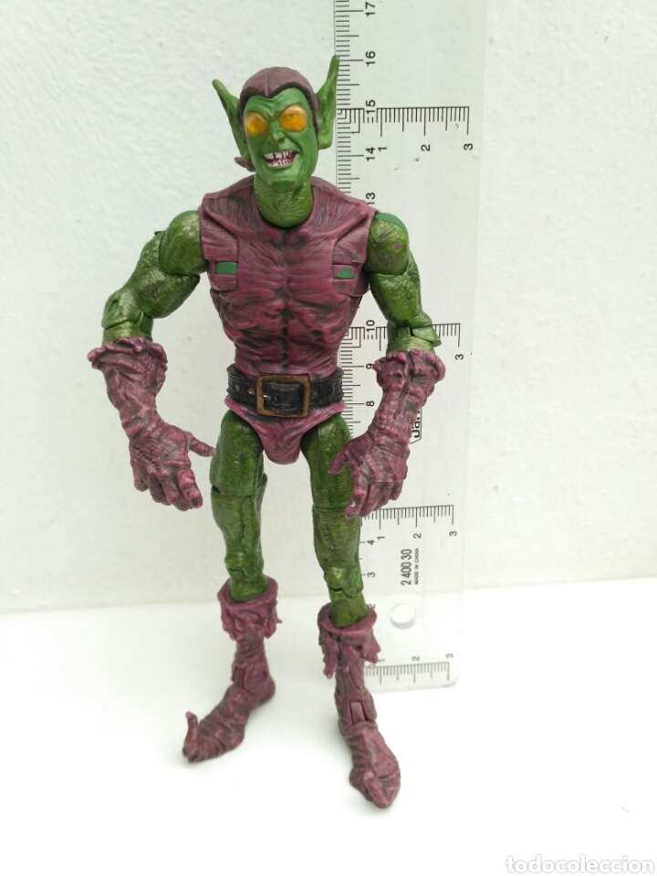 FIGURA DE ACCIÓN DUENDE VERDE SPIDERMAN GREEN GOBLIN MARVEL 2004 (Juguetes - Figuras de Acción - Marvel)