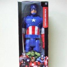 Figuras y Muñecos Marvel: FIGURA CAPTAIN CAPITÁN AMERICA - HASBRO TITAN HERO MARVEL AVENGERS LOS VENGADORES 30 CM 12 PULGADAS. Lote 148620906