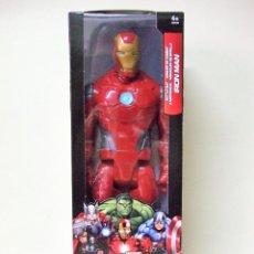 Figuras y Muñecos Marvel: FIGURA IRON MAN BATTLE SUIT - HASBRO TITAN HERO MARVEL AVENGERS LOS VENGADORES 30 CM 12 PULGADAS. Lote 148621154