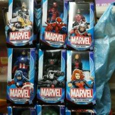 Figuras y Muñecos Marvel: COLECCION COMPLETA 9 PERSONAJES MARVEL NUEVOS PRECINTADOS EN SU CAJA. Lote 148851446
