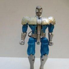 Figuras y Muñecos Marvel: SPIDERMAN AZUL Y PLATA - TRANSFORMABLE- MARVEL 1999. Lote 149665634