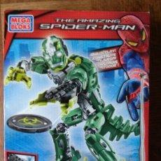 Figuras y Muñecos Marvel: LIZARD TECHBOT, THE AMAZING SPIDER-MAN - MEGA BLOKS 2012 - SIN ABRIR SIN USO- 25 CENTIMETROS. Lote 149851238