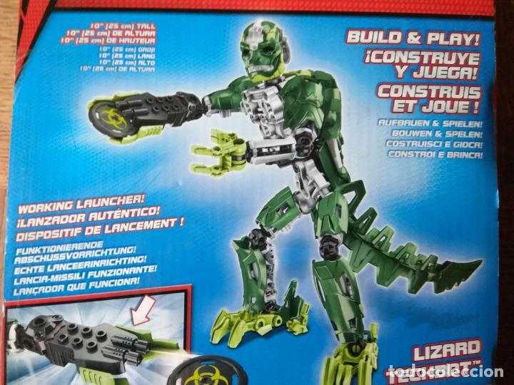 Figuras y Muñecos Marvel: LIZARD TECHBOT, THE AMAZING SPIDER-MAN - MEGA BLOKS 2012 - SIN ABRIR SIN USO- 25 CENTIMETROS - Foto 2 - 149851238