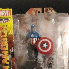 Figuras y Muñecos Marvel: MARVEL SELECT CAPTAIN AMERICA - DIAMOND SELECT TOYS . Lote 150661806