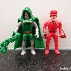 Figuras y Muñecos Marvel: DAREDEVIL Y DR. DOOM - DAN DEFENSOR Y DOCTOR MUERTE. MARVEL WORLD. (ENVÍO 2,40€). Lote 150850994