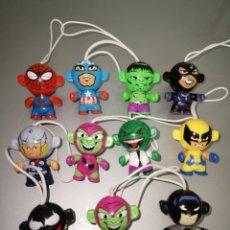 Figuras y Muñecos Marvel: LOTE 11X KINDER SUPERHEROES MARVEL 2013. Lote 150921713