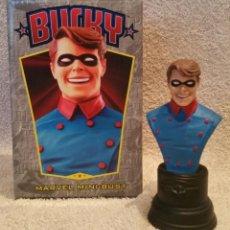 Figuras y Muñecos Marvel: BUSTO BUCKY (CAPITAN AMERICA – SOLDADO DE INVIERNO) – BOWEN DESIGNS 2002.. Lote 151140706