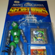 Figuras y Muñecos Marvel: SECRET WARS DOCTOR DOOM Y SU ESCUDO SECRETO. Lote 151902456