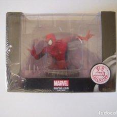 Figuras y Muñecos Marvel: BUSTO SPIDER-MAN EN RESINA DE COLECCION ALTAYA MARVEL. CON CERTIFICADO Y FASCÍCULO. Lote 152375814