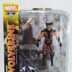 Figuras y Muñecos Marvel: MARVEL SELECT - UNMASKED WOLVERINE- LOBEZNO DESENMASCARADO - X-MEN. NUEVO A ESTRENAR.. Lote 152625142