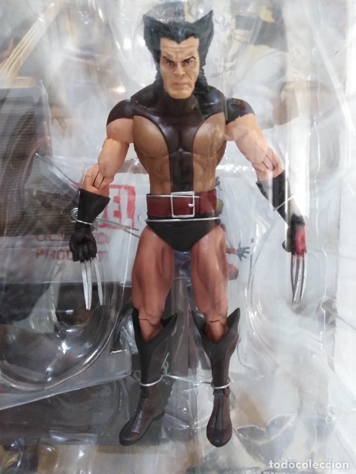 Figuras y Muñecos Marvel: Marvel Select - Unmasked Wolverine- Lobezno desenmascarado - X-Men. NUEVO A ESTRENAR. - Foto 2 - 152625142