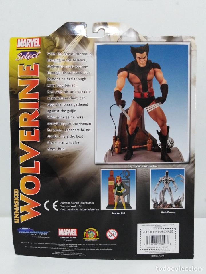 Figuras y Muñecos Marvel: Marvel Select - Unmasked Wolverine- Lobezno desenmascarado - X-Men. NUEVO A ESTRENAR. - Foto 3 - 152625142