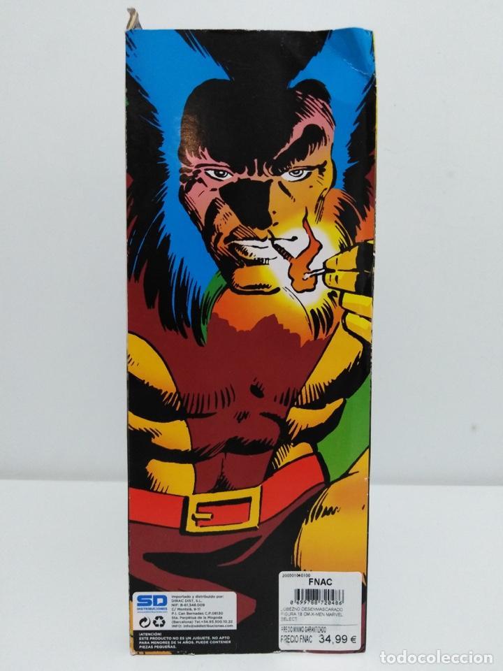 Figuras y Muñecos Marvel: Marvel Select - Unmasked Wolverine- Lobezno desenmascarado - X-Men. NUEVO A ESTRENAR. - Foto 5 - 152625142