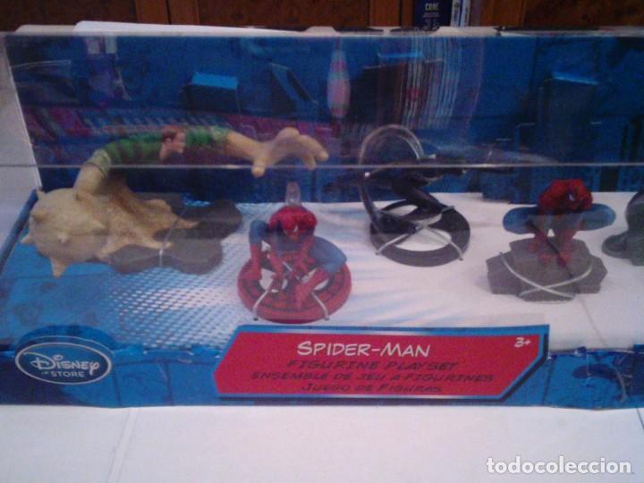 Figuras y Muñecos Marvel: SPIDERMAN - CONJUNTO DE 7 FIGURAS - DISNEY STORE- MARVEL - EXCLUSIVAS FIGURAS - NUEVO - Foto 2 - 155340830