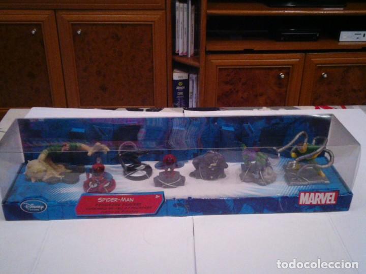 Figuras y Muñecos Marvel: SPIDERMAN - CONJUNTO DE 7 FIGURAS - DISNEY STORE- MARVEL - EXCLUSIVAS FIGURAS - NUEVO - Foto 4 - 155340830