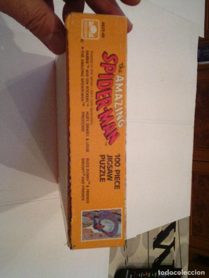 Figuras y Muñecos Marvel: SPIDERMAN - PUZLE ORIGINAL MARVEL - AÑOS 80 -BUEN ESTADO - COMPLETO - GORBAUD - Foto 2 - 155368842