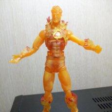 Figuras y Muñecos Marvel: FIGURA MARVEL LEGENDS ANTORCHA HUMANA HUMAN TORCH ARES SERIES SIMILAR DC UNIVERSE CLASSICS. Lote 155848334