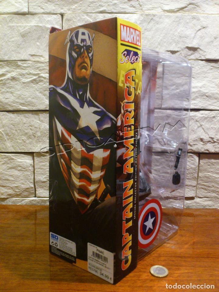 Figuras y Muñecos Marvel: MARVEL - DIAMOND SELECT - CAPITAN AMERICA - CAPTAIN - SPECIAL COLLECTOR EDITION - FIGURA - NUEVO - Foto 4 - 156104698