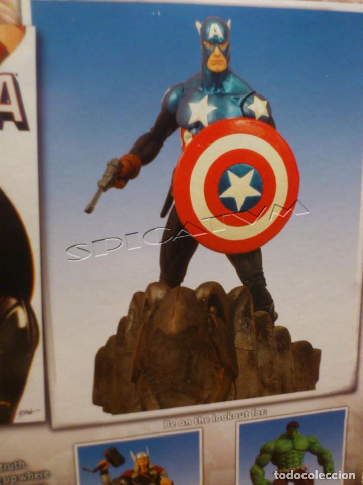 Figuras y Muñecos Marvel: MARVEL - DIAMOND SELECT - CAPITAN AMERICA - CAPTAIN - SPECIAL COLLECTOR EDITION - FIGURA - NUEVO - Foto 12 - 156104698