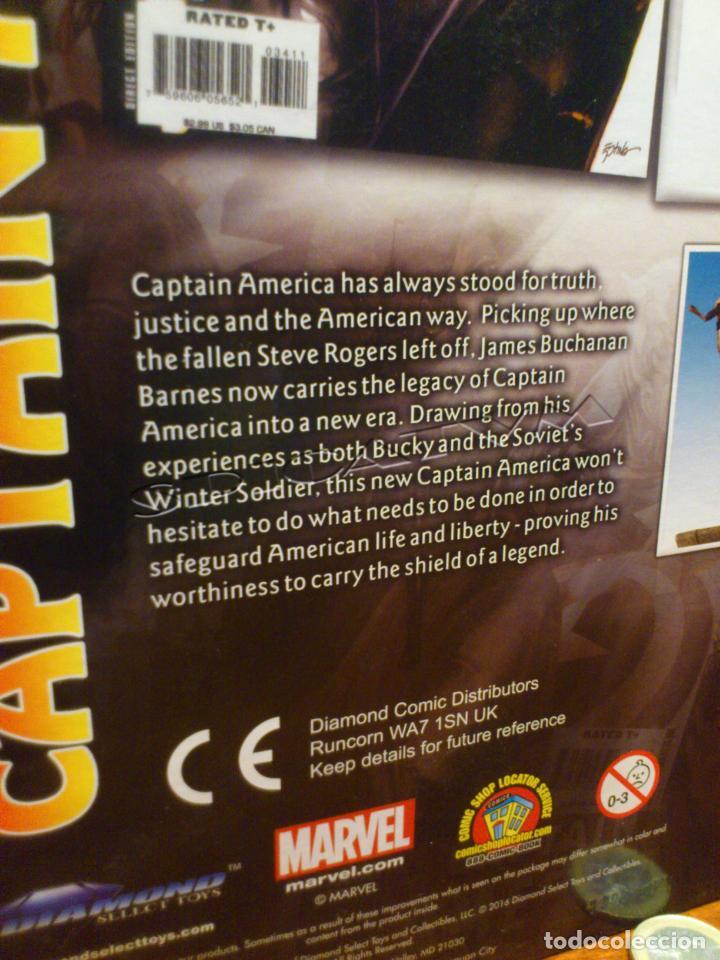 Figuras y Muñecos Marvel: MARVEL - DIAMOND SELECT - CAPITAN AMERICA - CAPTAIN - SPECIAL COLLECTOR EDITION - FIGURA - NUEVO - Foto 14 - 156104698