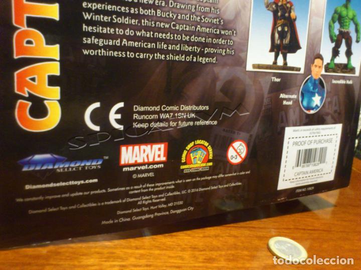 Figuras y Muñecos Marvel: MARVEL - DIAMOND SELECT - CAPITAN AMERICA - CAPTAIN - SPECIAL COLLECTOR EDITION - FIGURA - NUEVO - Foto 15 - 156104698