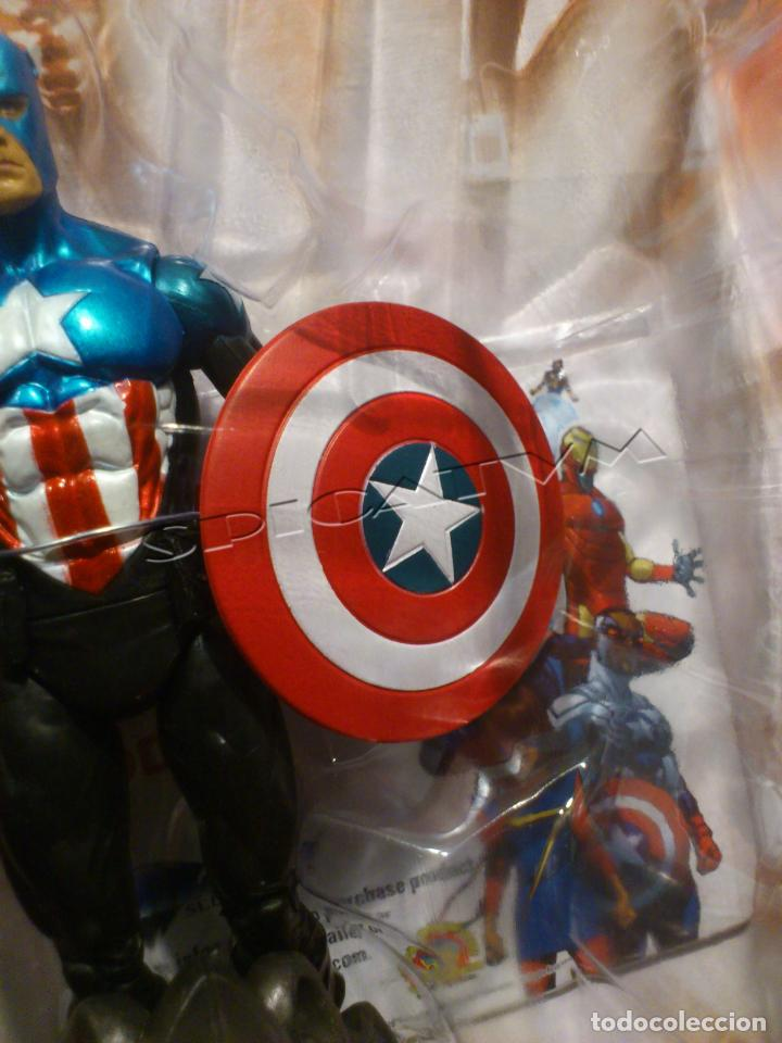 Figuras y Muñecos Marvel: MARVEL - DIAMOND SELECT - CAPITAN AMERICA - CAPTAIN - SPECIAL COLLECTOR EDITION - FIGURA - NUEVO - Foto 17 - 156104698