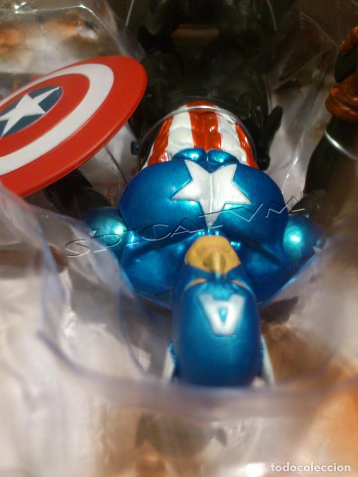 Figuras y Muñecos Marvel: MARVEL - DIAMOND SELECT - CAPITAN AMERICA - CAPTAIN - SPECIAL COLLECTOR EDITION - FIGURA - NUEVO - Foto 19 - 156104698
