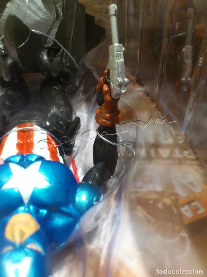 Figuras y Muñecos Marvel: MARVEL - DIAMOND SELECT - CAPITAN AMERICA - CAPTAIN - SPECIAL COLLECTOR EDITION - FIGURA - NUEVO - Foto 22 - 156104698