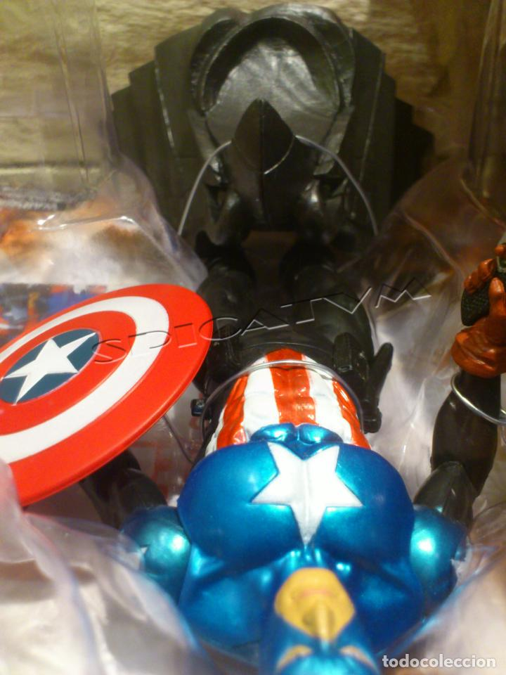 Figuras y Muñecos Marvel: MARVEL - DIAMOND SELECT - CAPITAN AMERICA - CAPTAIN - SPECIAL COLLECTOR EDITION - FIGURA - NUEVO - Foto 23 - 156104698