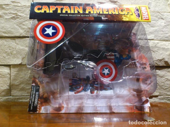 Figuras y Muñecos Marvel: MARVEL - DIAMOND SELECT - CAPITAN AMERICA - CAPTAIN - SPECIAL COLLECTOR EDITION - FIGURA - NUEVO - Foto 27 - 156104698