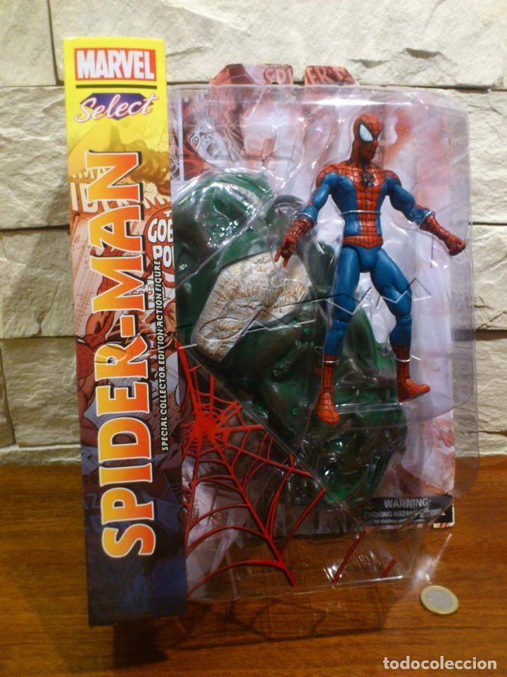 MARVEL - DIAMOND SELECT - SPIDER-MAN - SPIDERMAN - COLLECTOR EDITION - FIGURA - NUEVO - PRECINTADO (Juguetes - Figuras de Acción - Marvel)