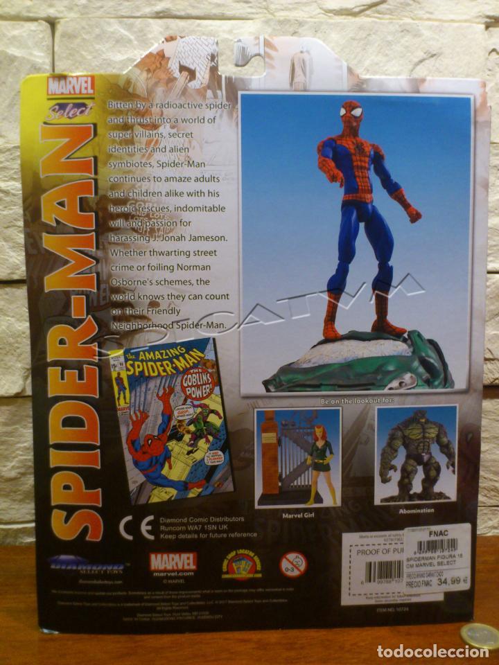 Figuras y Muñecos Marvel: MARVEL - DIAMOND SELECT - SPIDER-MAN - SPIDERMAN - COLLECTOR EDITION - FIGURA - NUEVO - PRECINTADO - Foto 5 - 156219550