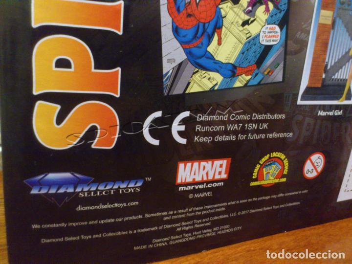 Figuras y Muñecos Marvel: MARVEL - DIAMOND SELECT - SPIDER-MAN - SPIDERMAN - COLLECTOR EDITION - FIGURA - NUEVO - PRECINTADO - Foto 7 - 156219550