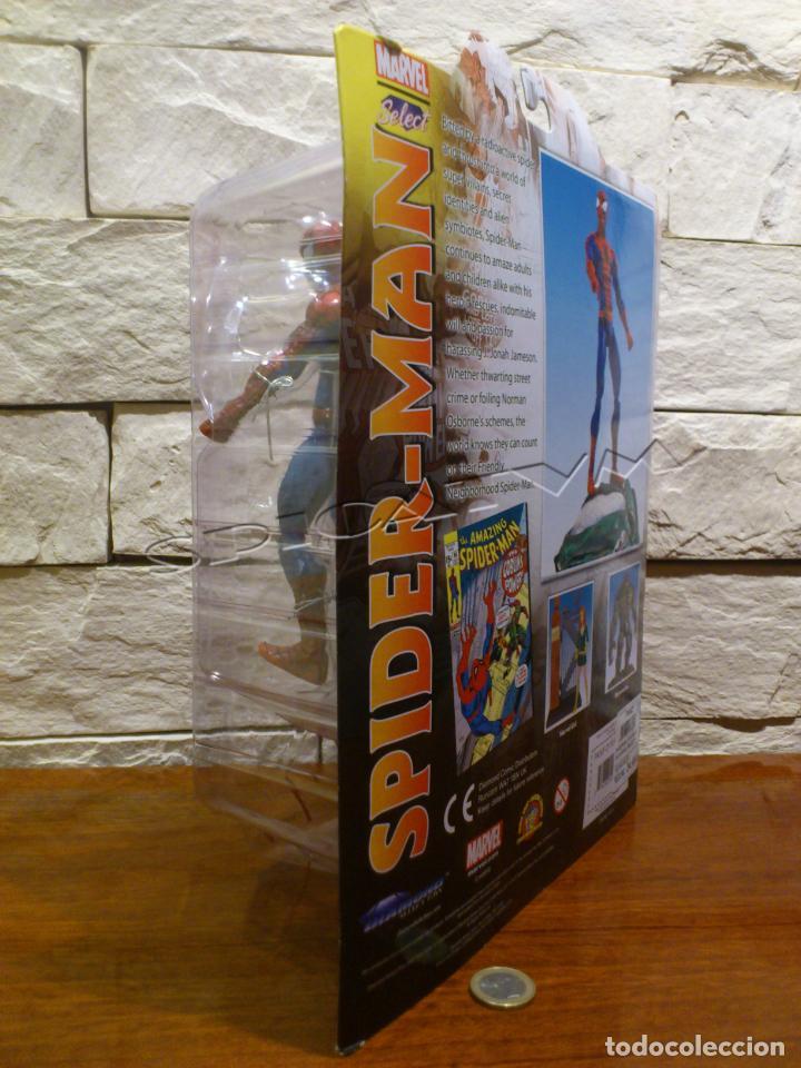 Figuras y Muñecos Marvel: MARVEL - DIAMOND SELECT - SPIDER-MAN - SPIDERMAN - COLLECTOR EDITION - FIGURA - NUEVO - PRECINTADO - Foto 8 - 156219550