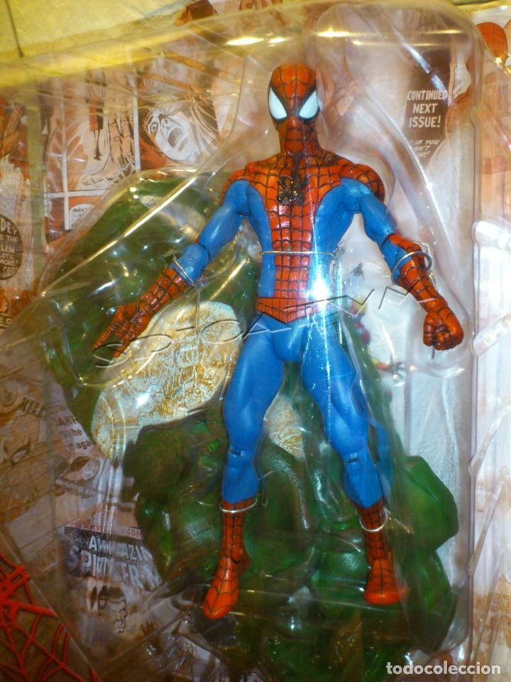 Figuras y Muñecos Marvel: MARVEL - DIAMOND SELECT - SPIDER-MAN - SPIDERMAN - COLLECTOR EDITION - FIGURA - NUEVO - PRECINTADO - Foto 12 - 156219550