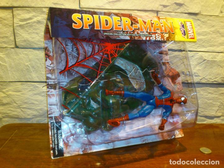 Figuras y Muñecos Marvel: MARVEL - DIAMOND SELECT - SPIDER-MAN - SPIDERMAN - COLLECTOR EDITION - FIGURA - NUEVO - PRECINTADO - Foto 21 - 156219550